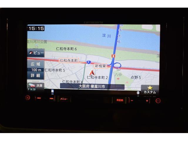 ハイブリッドXS フルセグ メモリーナビ DVD再生 バックカメラ 衝突被害軽減システム ETC 両側電動スライド LEDヘッドランプ フルエアロ アイドリングストップ(11枚目)