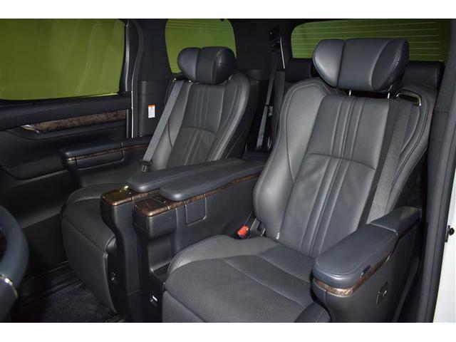 エグゼクティブラウンジS 革シート サンルーフ 4WD フルセグ DVD再生 ミュージックプレイヤー接続可 後席モニター バックカメラ 衝突被害軽減システム ETC 両側電動スライド LEDヘッドランプ 乗車定員7人(13枚目)