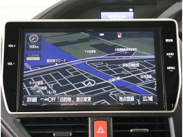 ZS 10インチトヨタコネクトナビ バックモニター 後席モニター ビルトインETC ドライブレコーダー LEDヘッドライト 片側電動スライドドア スマートキー TSS ワンオーナー(6枚目)