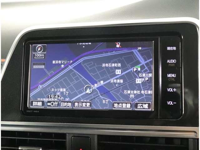 G トヨタセーフティーセンス 純正SDナビ バックモニター ワンオーナー 外品LED(6枚目)