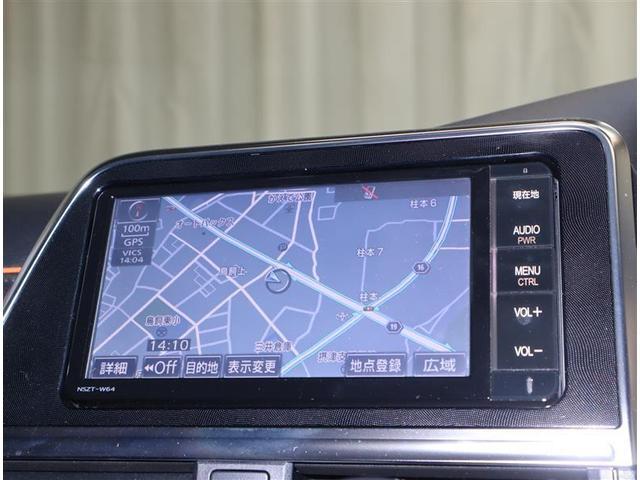 G フルセグ メモリーナビ DVD再生 衝突被害軽減システム ETC 両側電動スライド ウオークスルー 乗車定員7人 3列シート ワンオーナー 記録簿 アイドリングストップ(9枚目)