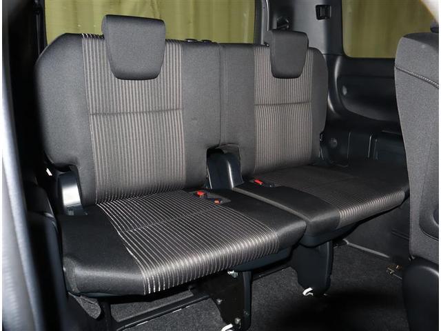 Si フルセグ DVD再生 ミュージックプレイヤー接続可 バックカメラ 衝突被害軽減システム ETC 両側電動スライド LEDヘッドランプ ウオークスルー 乗車定員7人 3列シート ワンオーナー フルエアロ(9枚目)