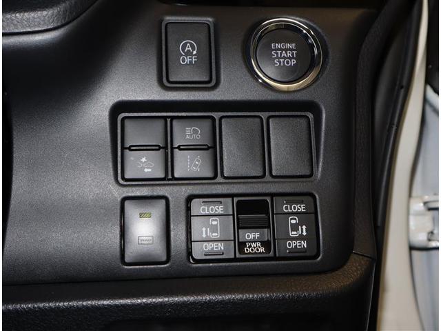 Si フルセグ DVD再生 ミュージックプレイヤー接続可 バックカメラ 衝突被害軽減システム ETC 両側電動スライド LEDヘッドランプ ウオークスルー 乗車定員7人 3列シート ワンオーナー フルエアロ(18枚目)