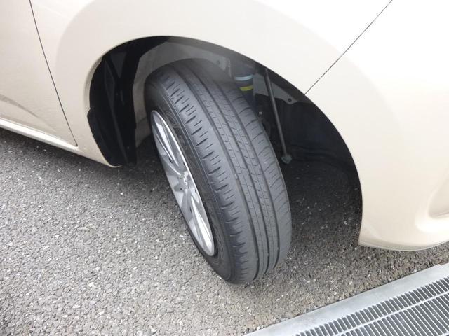 タイヤ残り溝約4ミリです