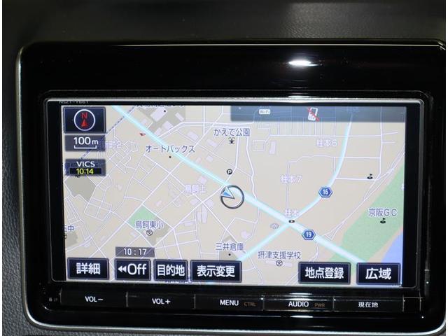 ZS フルセグ メモリーナビ DVD再生 バックカメラ 衝突被害軽減システム ETC 両側電動スライド LEDヘッドランプ ウオークスルー 乗車定員7人 3列シート ワンオーナー フルエアロ(10枚目)