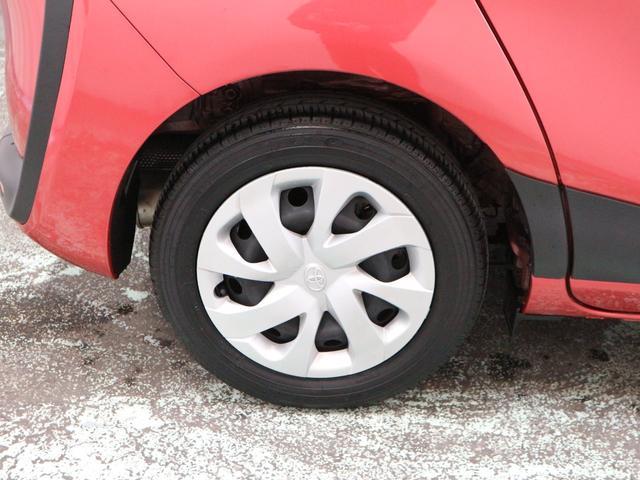 タイヤの残り溝は、約5ミリ程です。