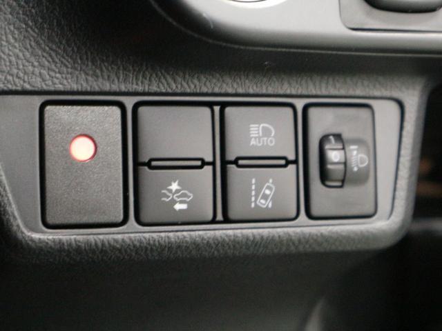 車線逸脱警報や、オートマチックハイビームのスイッチ部になります^^