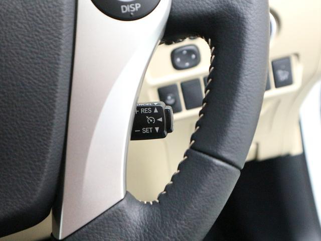 クルーズコントロール☆高速道路などでアクセルを踏まずに一定速度でのクルージングを可能にします。