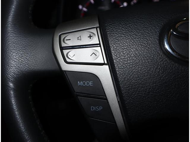 ハンドルの左側のスイッチはオーディオの切り替え・選局・音量調整が出来ます。目線を変えずに操作が出来るので安全ですね♪