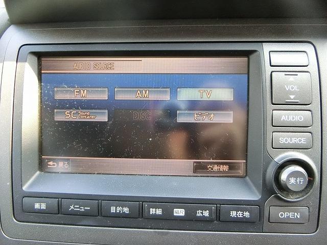 ホンダ クロスロード 20X_HDDナビエディション