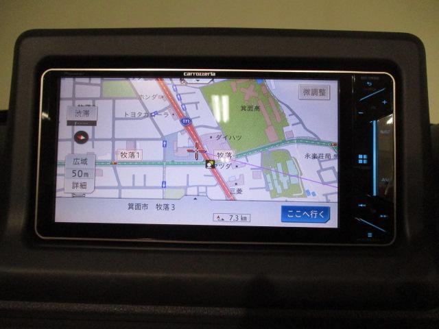 セロ フルセグTVナビ バックカメラ ステアリングスイッチ ターボエンジン搭載 プッシュボタンスタート アルミホイール CD/DVD/Bluetooth対応純正フルセグナビ キーフリーシステム(2枚目)