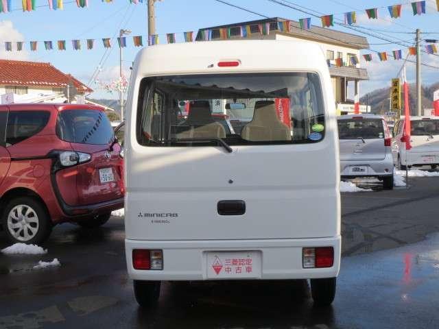三菱 ミニキャブバン 660 M ハイルーフ 5AMT車 4WD 前歴短期リース