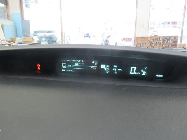 トヨタ プリウス Sツーリングセレクション・G's 8インチナビ フルセグ