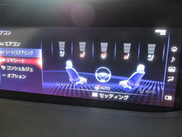 LS500h Fスポーツ ワンオーナー 純正ナビ サンルーフ ブルーレイ ミュージックサーバー フルセグ アラウンドモニター ステアリングスイッチ レーダークルーズ ビルトインETC レザーシート シートヒーター(13枚目)