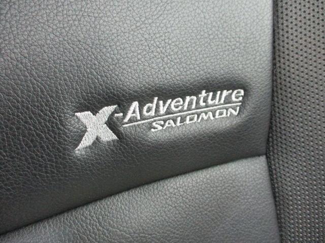 クロスアドベンチャーXC ワンオーナー HDDナビ 革席 リアワイパー ヘッドライトレベライザー 電動格納ミラー レザーシート バニティミラー シートヒーター キーレス インタークーラーターボ フォグライト アルミホイール(19枚目)