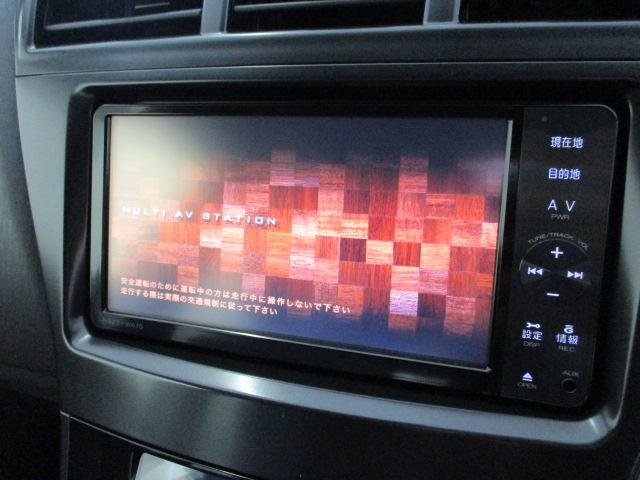 純正SDナビ フルセグ ドライブには必須の装備です!操作もカンタンです。