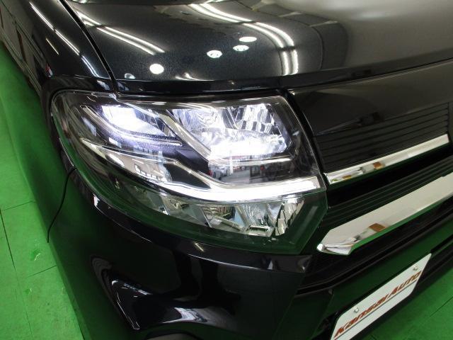 カスタムX 届出済未使用車 9インチナビ フルセグ 両側電動 バックカメラ オートエアコン リアワイパー ステアリングスイッチ LEDヘッドライト スマートキー ハーフレザーシート オートリトラミラー(25枚目)