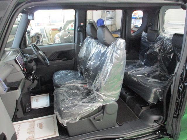 カスタムX 届出済未使用車 9インチナビ フルセグ 両側電動 バックカメラ オートエアコン リアワイパー ステアリングスイッチ LEDヘッドライト スマートキー ハーフレザーシート オートリトラミラー(26枚目)