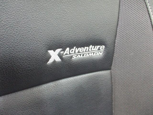 クロスアドベンチャーXC 5MT ワンオーナー レザーシート ヘッドライトレベライザー リアワイパー キーレス バニティミラー シートヒーター 16インチアルミホイール リア分割可倒シート ウインカーミラー ターボエンジン(21枚目)