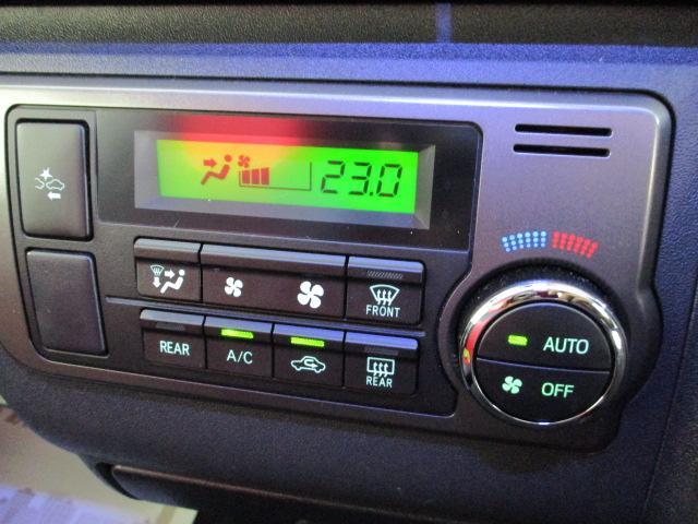ロングスーパーGL ワンオーナー SDナビ フルセグ バックカメラ オートエアコン ステアリングスイッチ リアワイパー ウッドコンビハンドル スマートキー プッシュスタート 両側パワースライドドア オートハイビーム(10枚目)