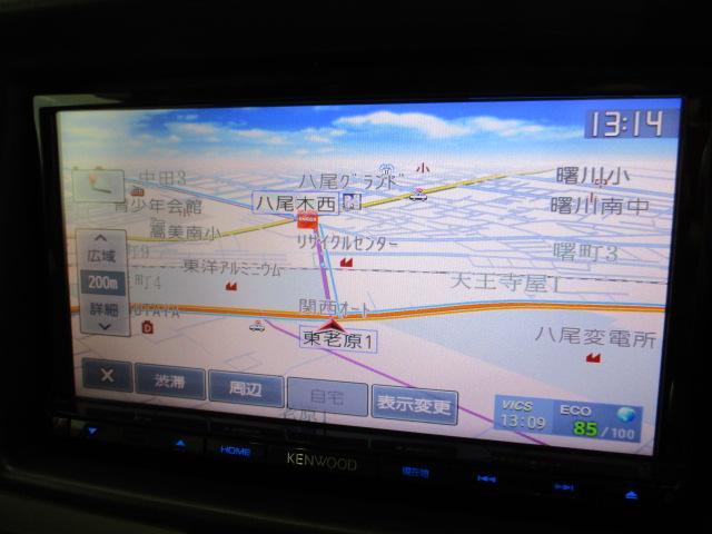PZターボスペシャル メモリーナビ 標準ルーフ フルセグ ブルートゥース バックカメラ ABS ステアリングスイッチ オートエアコン オートライト HIDライト フォグライト ETC スマートキー オートステップ(8枚目)