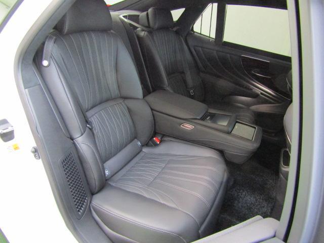 LS500h バージョンL フルセグ アラウンドモニター ヘッドアップディスプレイ サンルーフ レザーシート パワーシート シートエアコン シートヒーター PSKA BSM ステアリングスイッチ エアサス ETC2.0(5枚目)