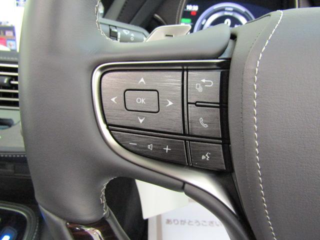 LS500h バージョンL フルセグ アラウンドモニター ヘッドアップディスプレイ サンルーフ レザーシート パワーシート シートエアコン シートヒーター PSKA BSM ステアリングスイッチ エアサス ETC2.0(14枚目)