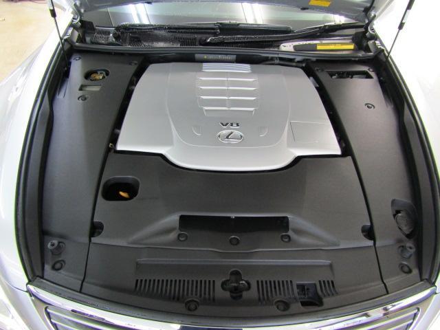 LS460 バージョンS イージークローズドア ステアリングスイッチ CD パワートランク レクサスプレミアムサウンド ウッドコンビハンドル シートヒーター シートエアコン オートリトラミラー 19インチアルミホイール PCS(29枚目)
