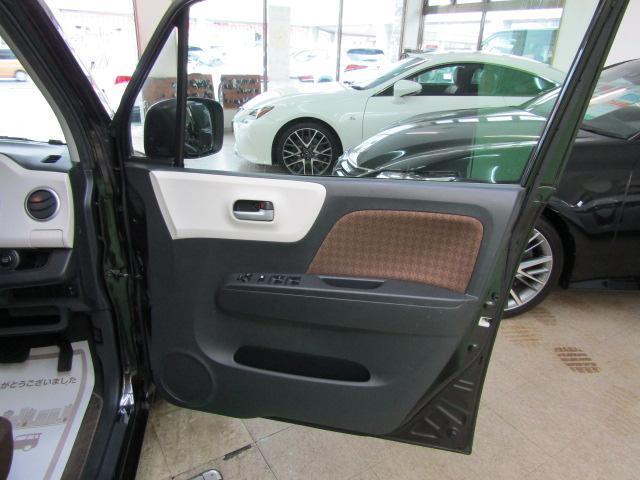 X セキュリティアラーム ウインカーミラー プライバシーガラス ライト付バニティミラー シートリフター 電動格納ミラー スマートキー プッシュスタート ヘッドライトレベライザー ABS ブルートゥース(22枚目)