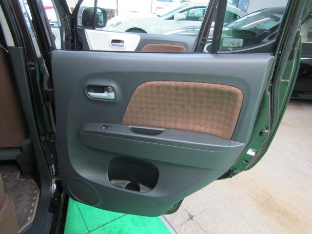 X セキュリティアラーム ウインカーミラー プライバシーガラス ライト付バニティミラー シートリフター 電動格納ミラー スマートキー プッシュスタート ヘッドライトレベライザー ABS ブルートゥース(23枚目)