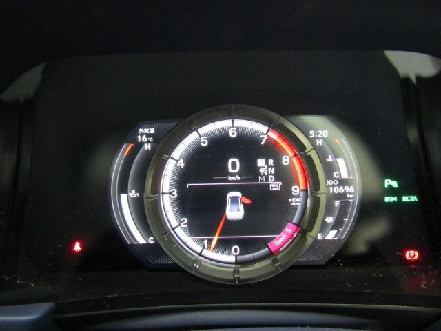 LC500 Lパッケージ ガラスルーフ パワーシート ETC オートリトラミラー 21インチアセーフティプラス ステアリングスイッチ パドルシフト HUD プッシュスタート  フルセグ ブルーレイ バックカメラ ABS(16枚目)