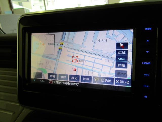 ハイブリッドX メモリーナビ フルセグ ブルートゥース オートエアコン ABS オートライト スマートキー プッシュスタート 両側パワースライドドア アイドリングストップ ヘッドライトレベライザー ビルトインETC(8枚目)