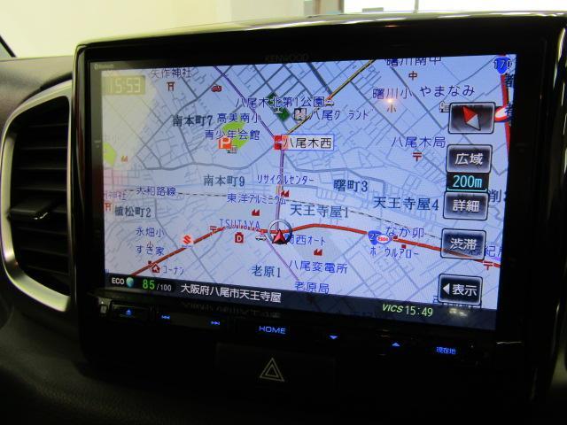XSターボ フルセグ 8インチナビ ETC バックカメラ オートエアコン ステアリングスイッチ 両側パワースライドドア セキュリティアラーム 15インチアルミ フォグライト Aストップ リアワイパー バドルシフト(8枚目)