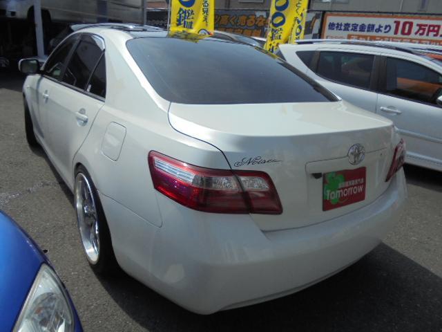 トヨタ カムリ G 車高調・19インチAW・ルーフブラックP