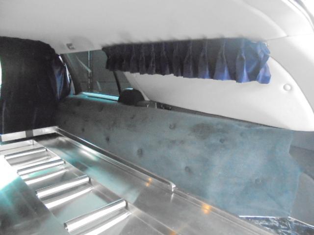 トヨタ クラウンエステート アスリート 霊柩車 ボディ延長 レザートップ 3人乗り