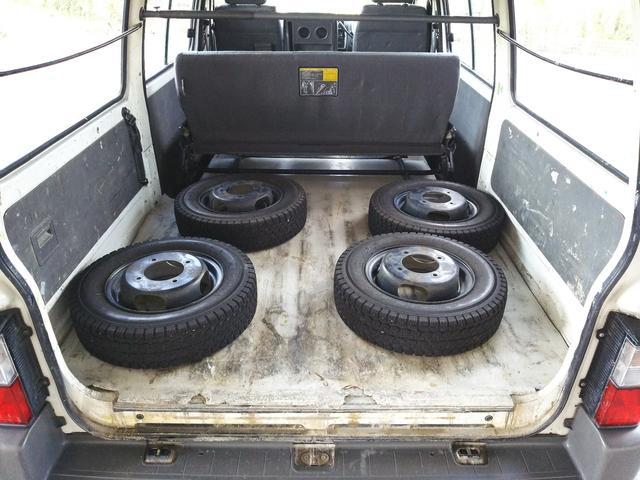 日産 バネットバン DX ETC 荷台フラット ロールーフ ルーフキャリア