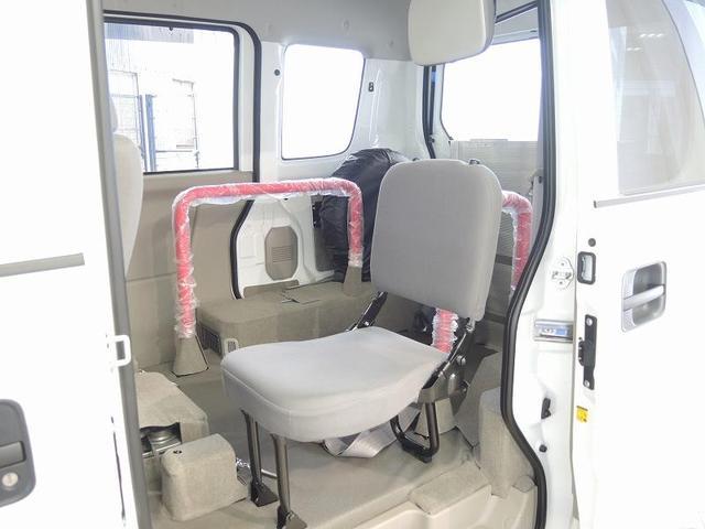 スズキ エブリイワゴン スローパー 電動ウィンチ 車いす電動固定装置 オートアラーム