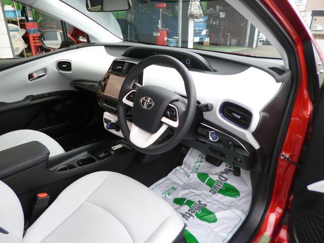 トヨタ プリウス Sツーリングセレクション セーフティセンス9インチナビ地デジ
