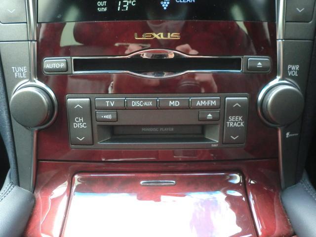 LS460 バージョンC マルチ 革シート クリアランスソナー シートヒーター/クーラー ハンドルヒーター(17枚目)