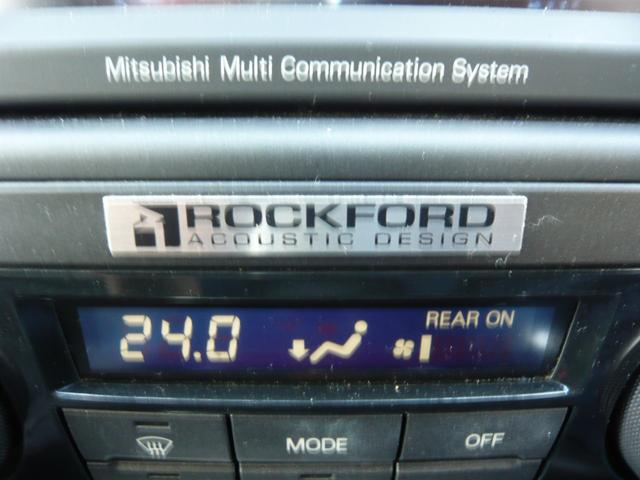 スーパーエクシードですので、ロックフォードアコースティックデザインプレミアムサウンドシステムも標準装備です