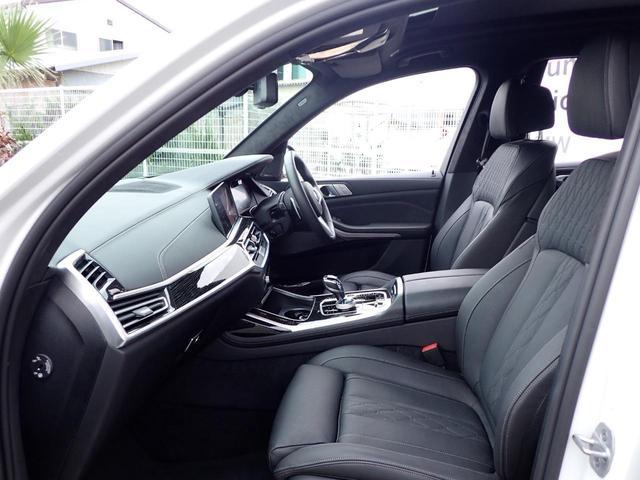 M50i スカイラウンジ レーザライト アルカンターラ 黒革 アラームシステム 6コンフォートシート 5ゾーンAC 22インチAW デモカー(9枚目)