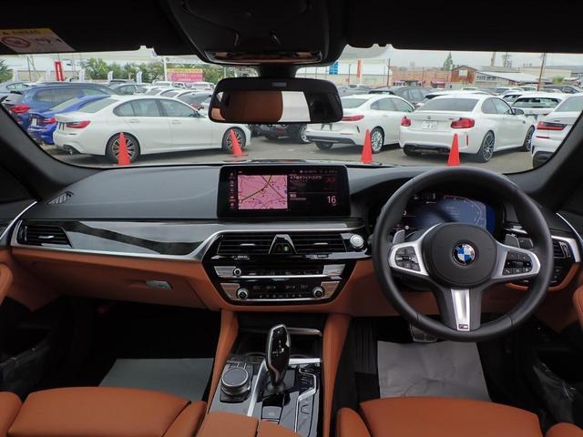 530e Mスポーツ エディションジョイ+ HUD 茶革電動 Mブレーキ 電動トランク 19インチAW シートヒータ ウッドP パーキングアシストプラス アンビエントライト Eドライブサービス TV ファンクション デモカー(8枚目)