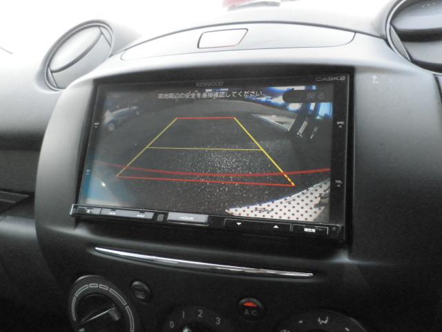 マツダ デミオ 13C-V スマートエディションII ナビ TV Bカメラ