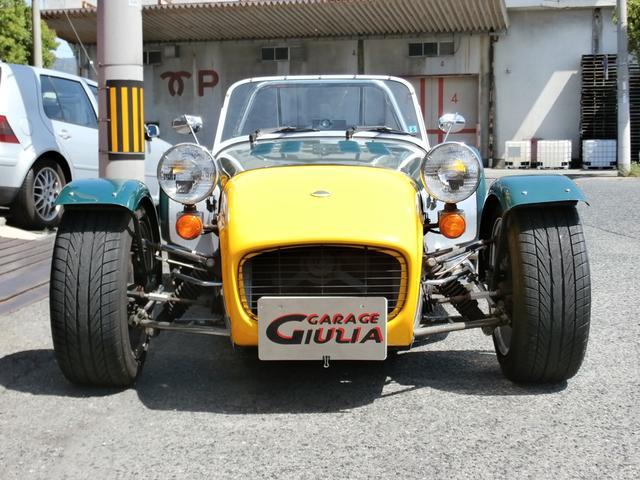 バーキン バーキン7 スーパー7 KENTエンジン サイドマフラー