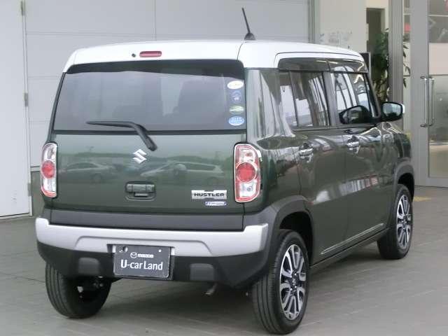 ダークティンテッドガラスが車外からの視線を遮り、室内のプライバシーを守ります。また、エアコンの冷却効率を高める効果もあります。