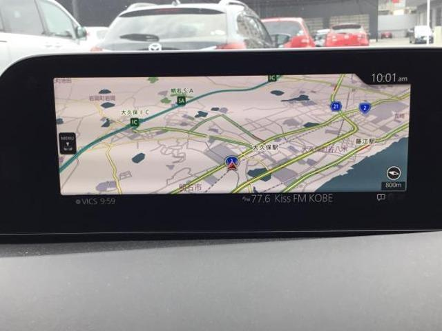 米国の「GPS」に加えて、日本の準天頂衛星システム「みちびき」および、ロシアの衛星測位システム「グロナス」に対応する事により、自車位置の精度も向上しています