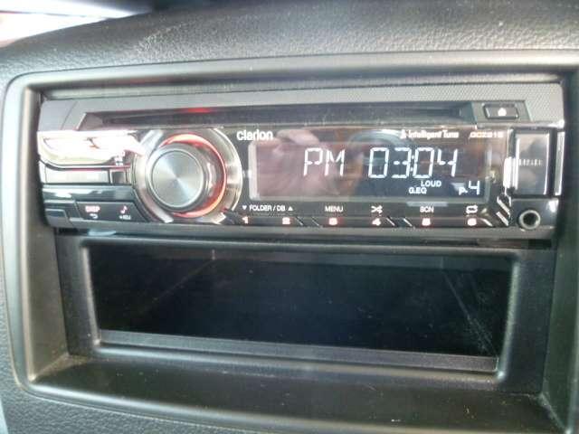 AMFMチューナーやCDが視聴できます。