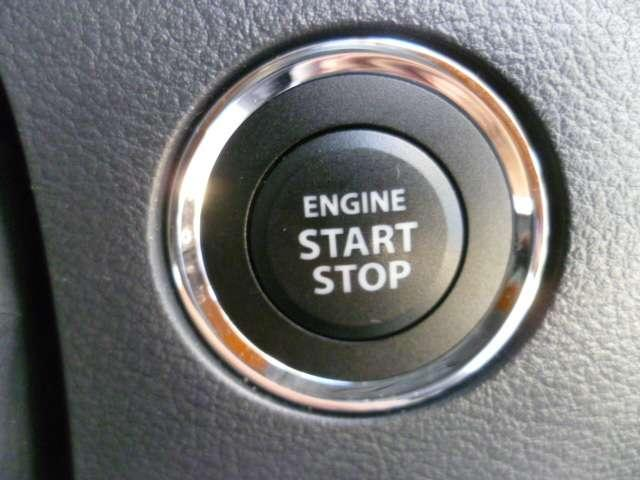 キーレスを持ったままでスイッチON!手軽にエンジン始動ができます◎【プッシュボタンスタートシステム】