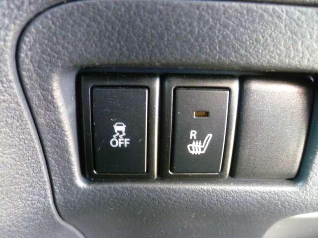 運転席にはシートヒーターがありますのでぽかぽかドライブです。