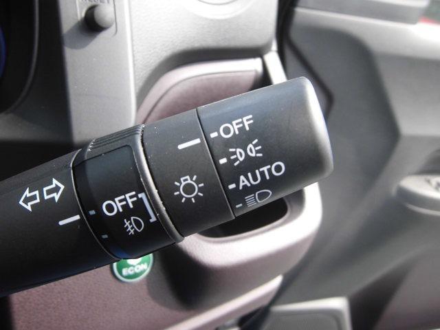 オートライトですのでライトの消し忘れの防止にもなり運転に集中できます。